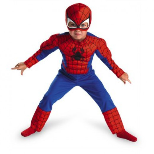Spiderman Toddler Costume