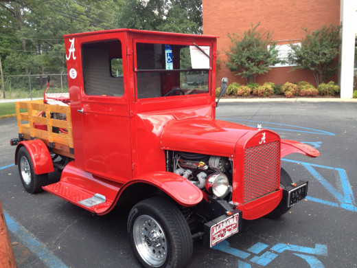 BAMA T Model T Truck Alabama Style! Complete with Hounds tooth interior