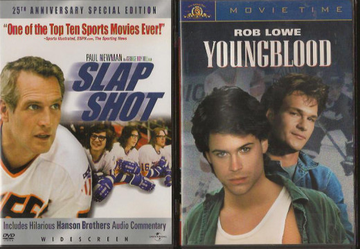 Ice Hockey Movies - Slap Shot and Youngblood