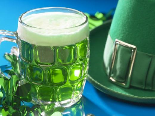 Green beer...yummm