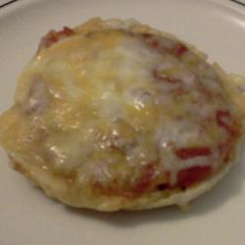 Three Cheese Pizza on an English Muffin for Toddlers & Kids