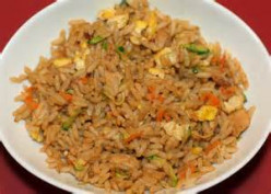 Using your rice cooker creatively. How to make organic fried rice in it.