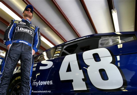 Jimmie Johnson is the man to beat in Loudon