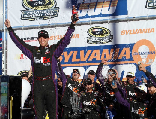 Hamlin has won Chase races in New Hampshire before