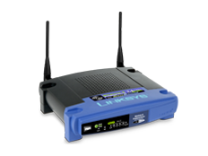 Linksys WRT54GS router