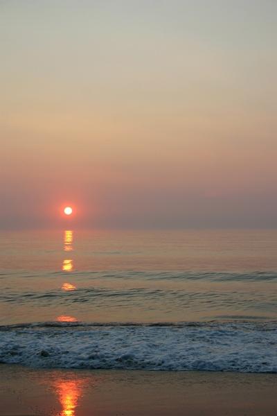 Sun Rise Nags Head Beach On North Carolina Outer Banks