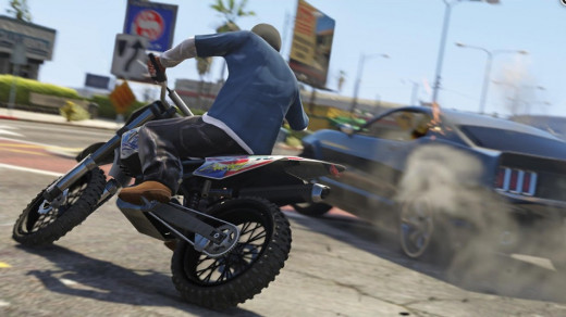 GTA 5 successfully presents a dark comedy, which is an action-packed, thrilling and riveting experience on its own.