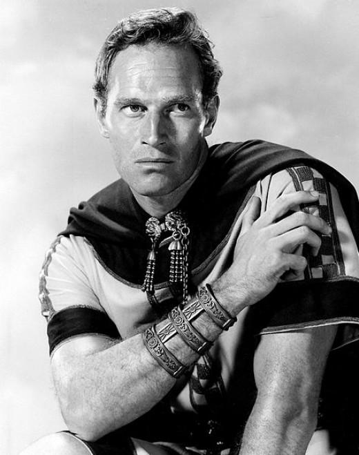 Charlton Heston as Ben Hur