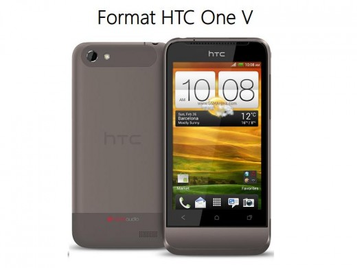 By hard resetting your HTC One V mobile phone you can get rid of many issues.