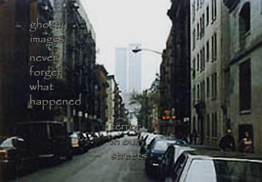 a senryu by Daisy Mariposa about the World Trade Center terrorist attack