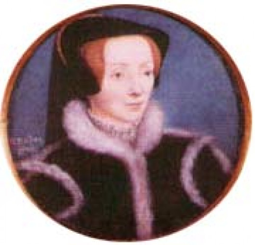 The mini portrait of Catherine Willoughby
