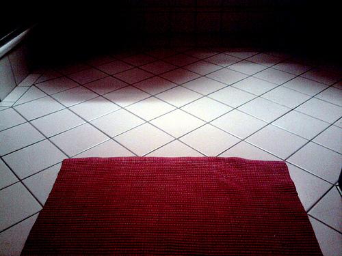 An Immaculate Bathroom Floor