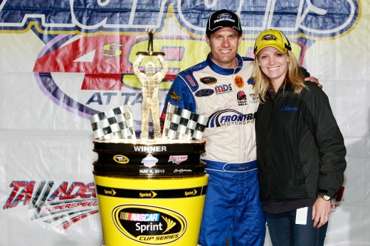 David Ragan brought Front Row Motorsports a huge win at Talladega. Can he win in a JGR Toyota?
