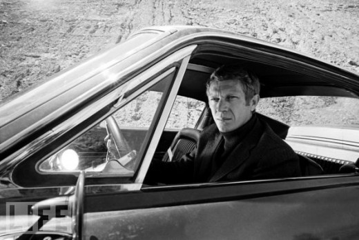 Steve Mcqueen from the 1968 classic Bullitt