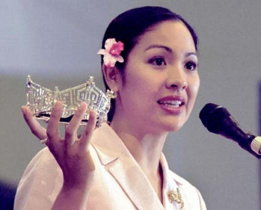 Ms. Angela Perez Baraquio (Ms. America 2001)