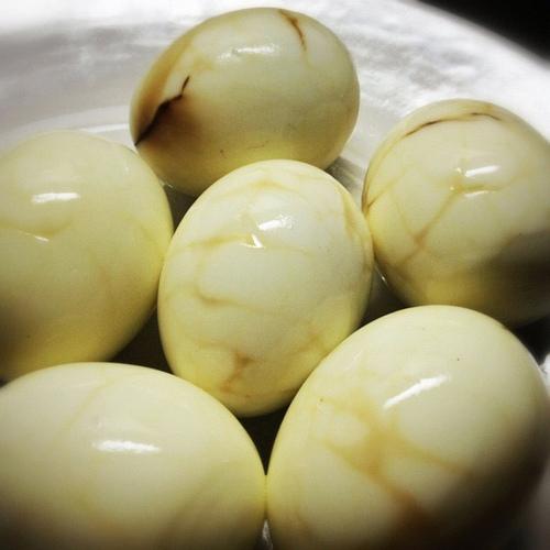 Marbled Ceylon Tea Eggs