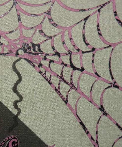 Hand drawn web cord