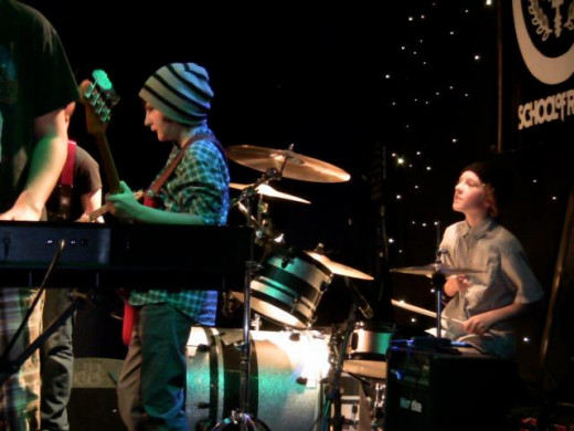 School of Rock Performing at Mexicali in Teaneck, New Jersey