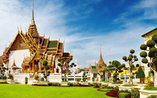 Grand Palace, Bangkok, Thailand (Home of the Temple of Emerald Buddha)