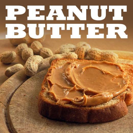 Peanut butter sandwich.