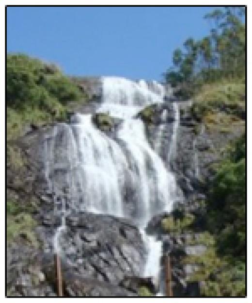 Powerhouse waterfalls