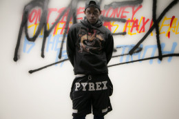 Not to be confused with Been Trill, Pyrex Vision most popular item is their sport shorts.