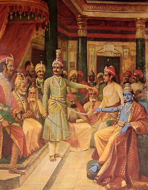Krishna as Envoy