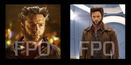 Side-by-side comparison of future and past Wolverine.