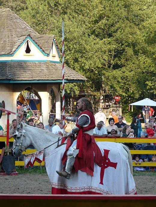 Experience the middle ages by visiting a Renaissance Fair.