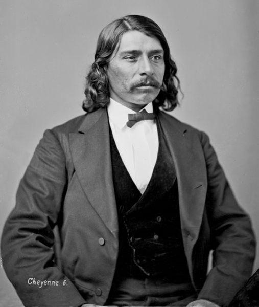 Edmond Guerrier who provided testimony against Colonel Chivington