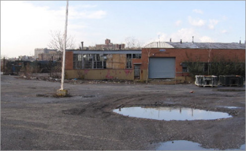 Typical brownfield needing decontamination and reconstruction.