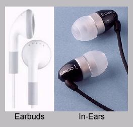 In-Ears and Earbuds