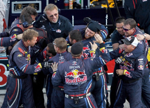 Kahne's win at Phoenix for Red Bull was an isolated bright spot for an otherwise difficult experience for the sponsor