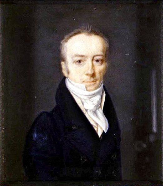 A portrait of James Smithson in 1816 by Henri-Joseph Johns