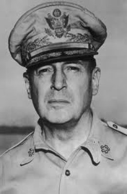 When the Kokoda Track fighting was at its fiercest, MacArthur gave his orders from Brisbane.  When it looked like we were winning, he moved to Port Moresby.  He never visited the front.