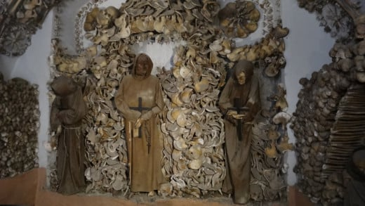 Crypt of the Capuchin Monks in Rome.