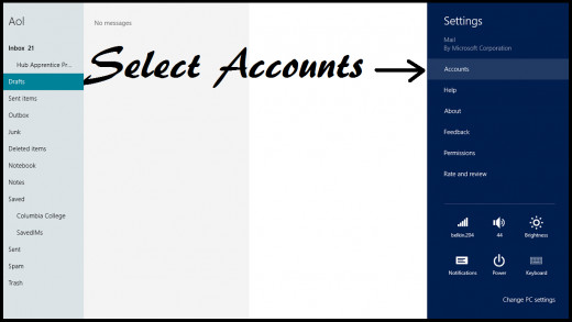 Select Accounts
