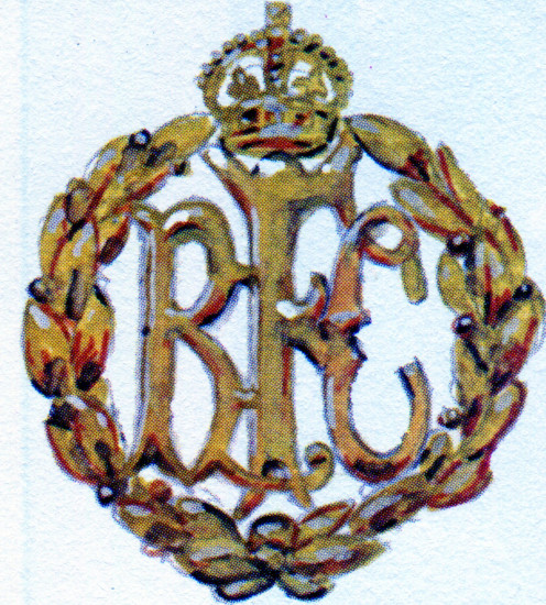 Bronze RFC cap badge