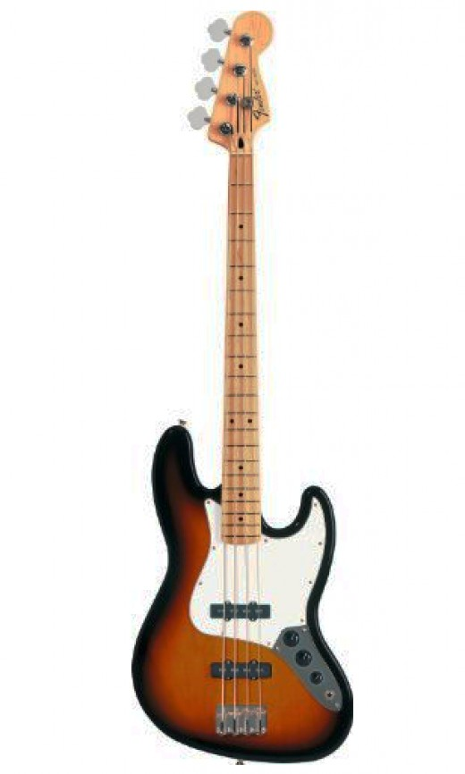 The Fender Standard Jazz Bass (MIM) is a classic Fender design made more affordable.