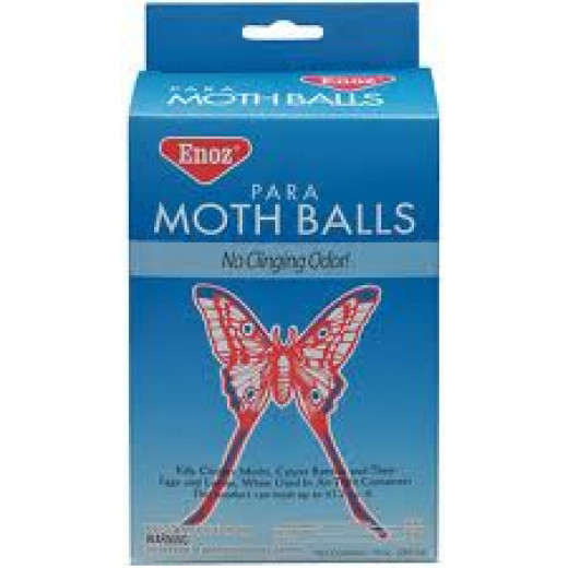 Mothballs have been used by birds to coat their feathers against insects!