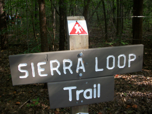 You are now entering the Sierra Loop Trail