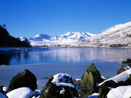 Snowdonia, majesty of mountains and home of gods - a land fit for heroes