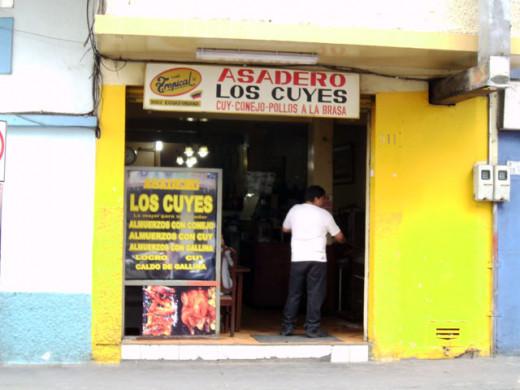 Asadero Los Cuyes (Guinea Pig Grill)