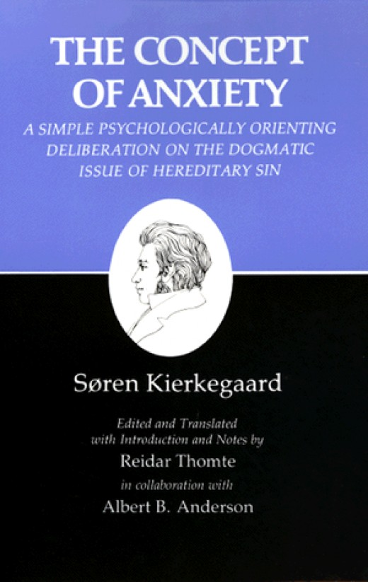 The Concept of Anxiety (Danish: Begrebet Angest): A Simple Psychologically Orienting Deliberation on the Dogmatic Issue of Hereditary Sin