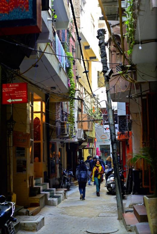 A typical Delhi Street
