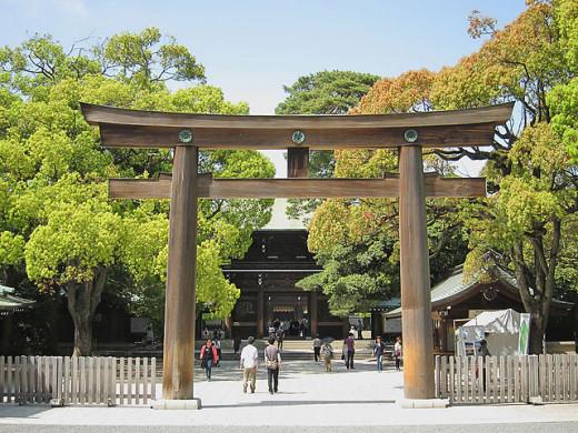 Meiji Shrine, Shibuya