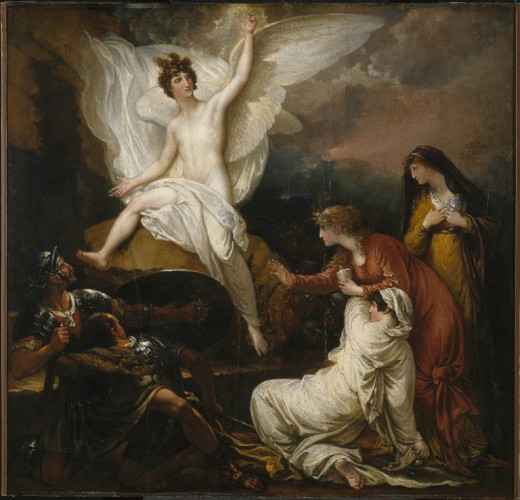 The Angel at the Tomb