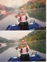 Anidae's big smallmouth bass