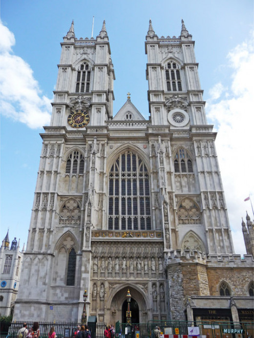 Westminster Abbey,  where your parents got married
