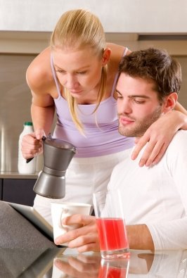 Even if you are in a live-in relationship, he can get up and fix his coffee. Knowingly or unknowingly, don't become the lady of the house while living in with him.